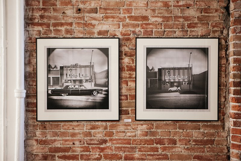 Gary Issac's 36 Views of the Lion's Lair at Leon Gallery in Denver, Colorado