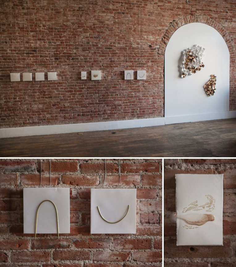 Brittany Gould at Leon Gallery | www.amandatipton.com