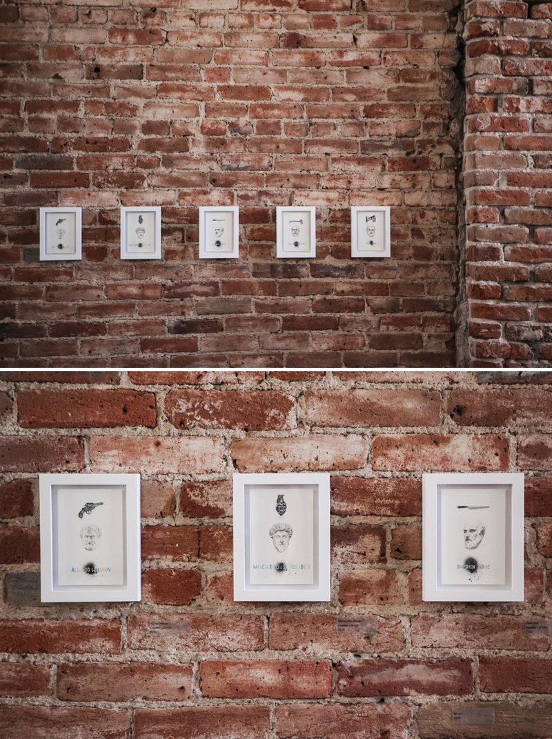 Travis Hetman at Leon Gallery   www.amandatipton.com