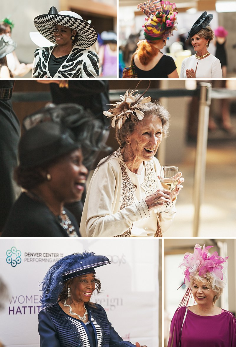 Denver Center for the Performing Arts, Women with Hattitude, Women's Voices Foundation, Denver Events Photography, Denver Event Photographer